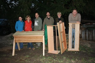 Tim Ayers' Top Bar Hive course March 2012