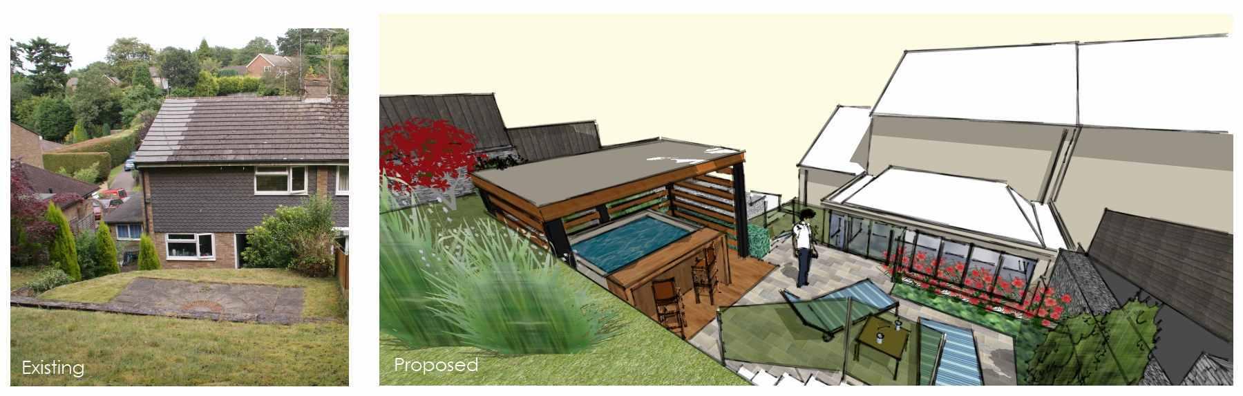 Garden Design Surrey Rumbold Ayers