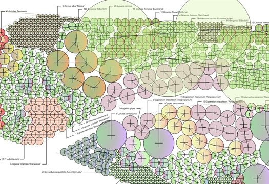 Garden Design And Planning Design Detailed Planting Plan Species And Quantities
