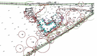Garden designer Dorset topographical survey